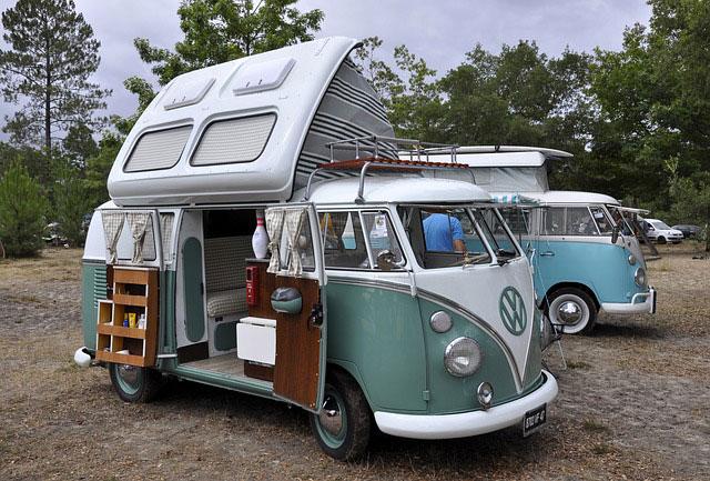 Camping VW Bus