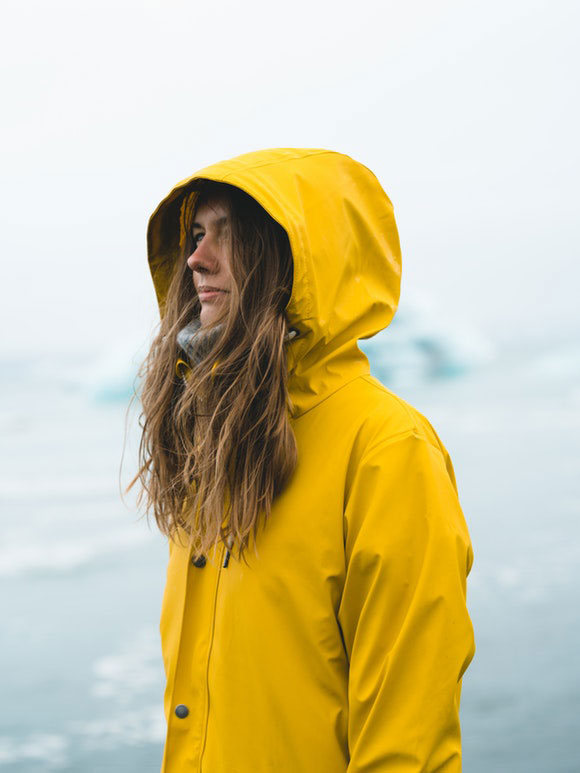 Regenjacke Outdoor-Kleidung
