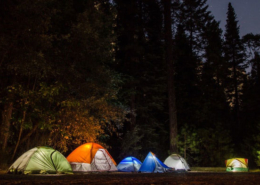 LED Campinglampen