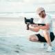 Fotografieren und Filmen am Strand