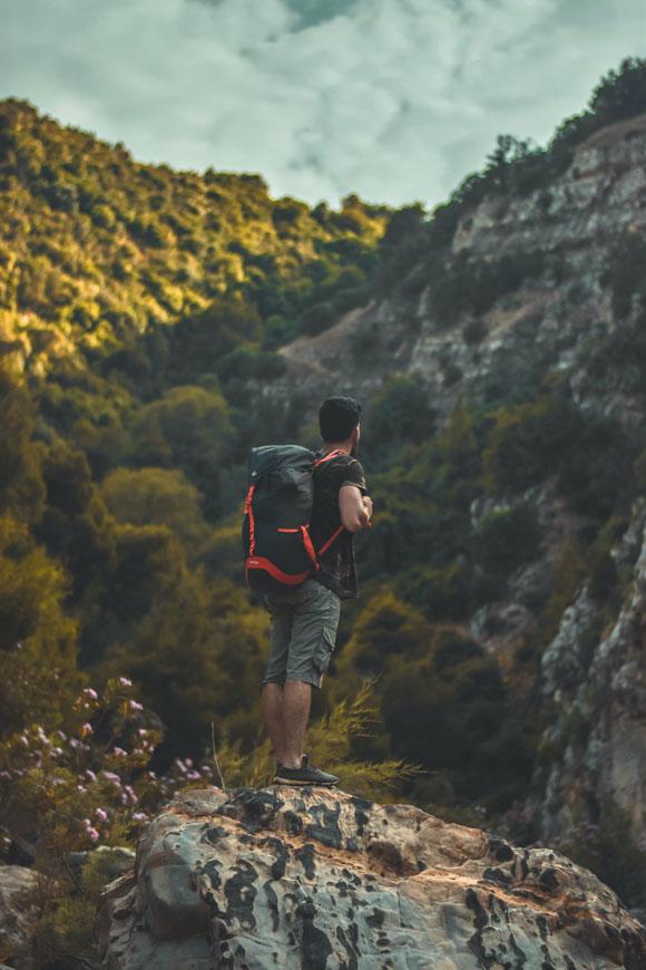 Wandern Rucksack-Apotheke