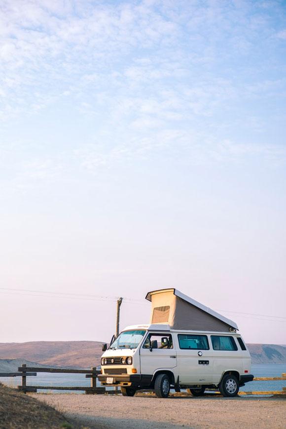 Camping Van Natur