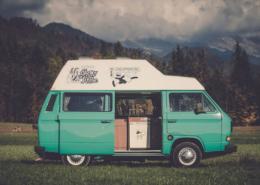 Erster Urlaub Campervan