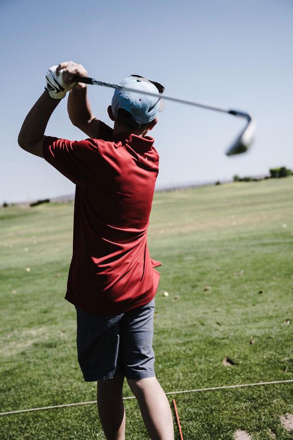 Golf Training Körper Geist
