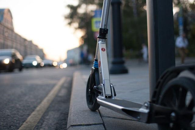 Scooter aktiv Stadt
