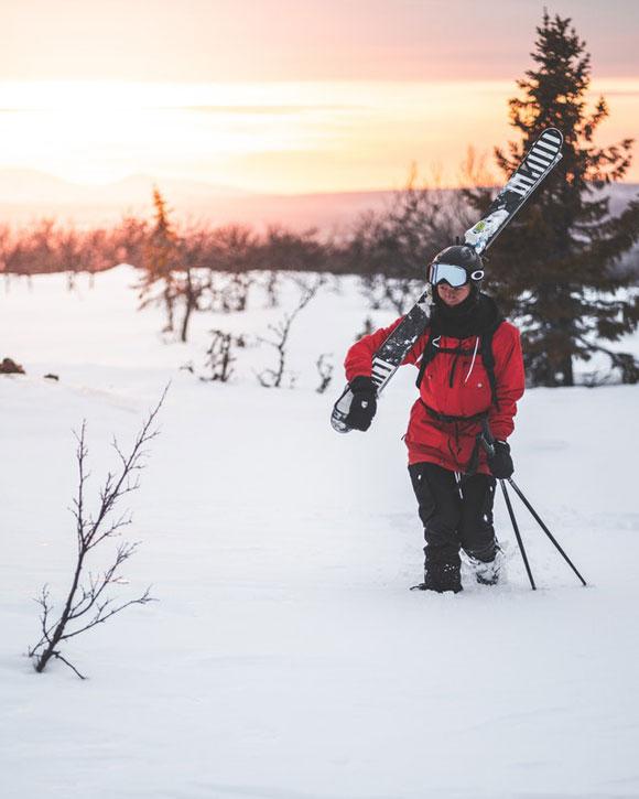 Ski Helm Brille Ausrüstung